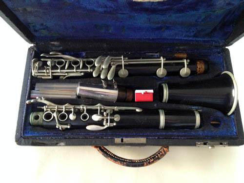 Hal Kemp's clarinet