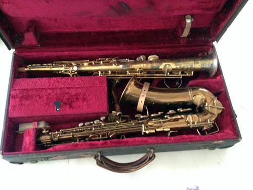 Hal Kemp's saxophone