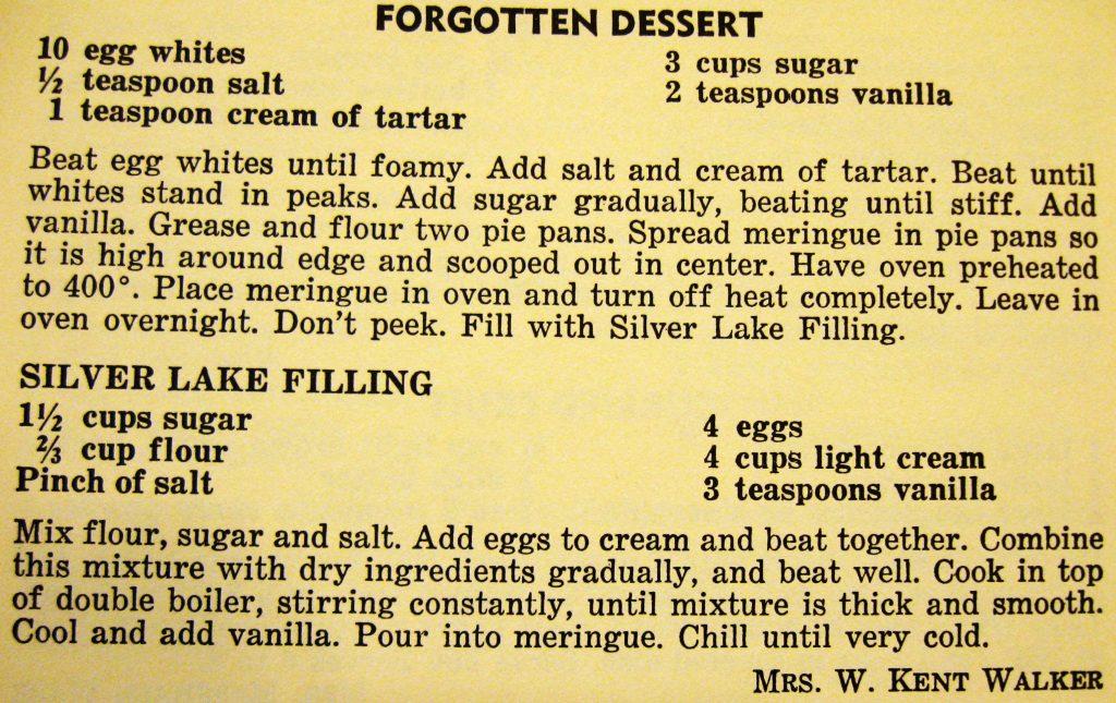 Forgotten dessert - The Charlotte Cookbook