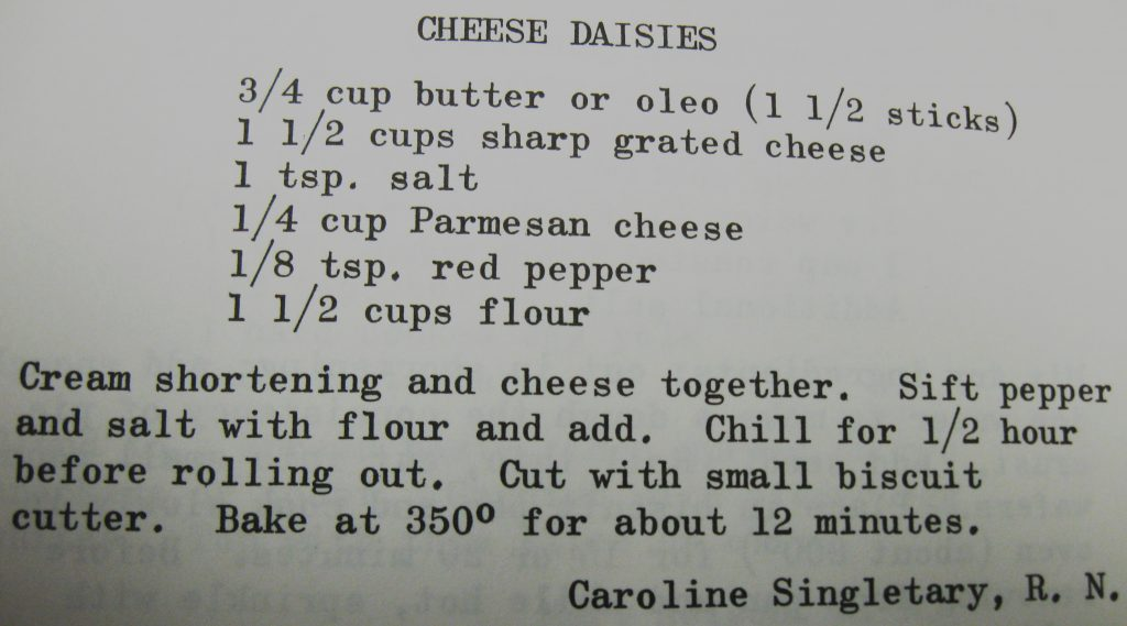 Cheese daisies - Nightingales in the Kitchen