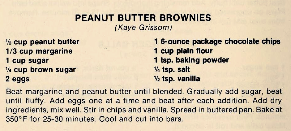 USED 3-1-15 Peanut Butter Brownies-The Pantry Shelf
