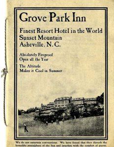 grove park inn cover