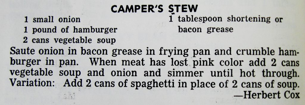 USED 9-23-15 Camper's Stew - Farmville