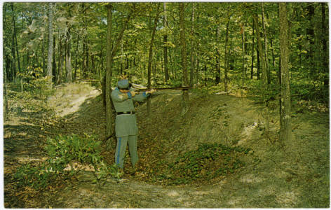 Bentonville - Union_Army_Trenches_Built_in_1865
