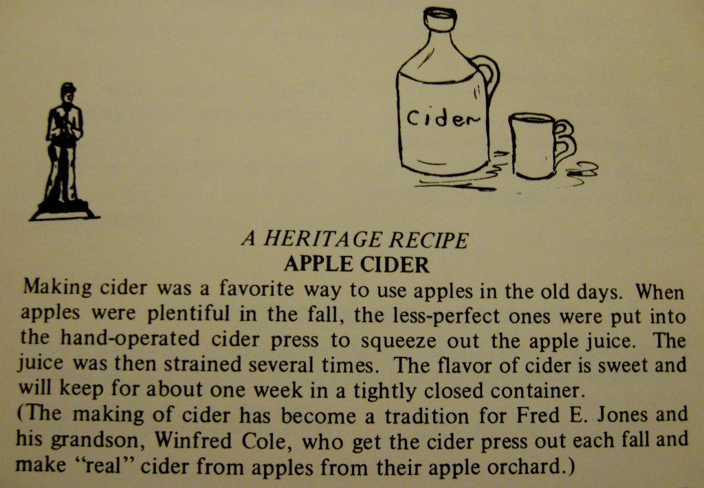USED 10-9-15 Apple Cider - A Taste of the Old and the New