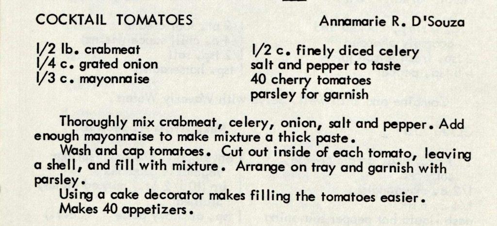 Cocktail Tomatoes - Bone Appetit