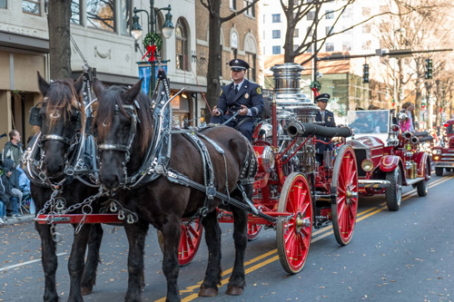 2012 Carolinas' Carrousel Parade. Photo by Charlotte Fire Department.