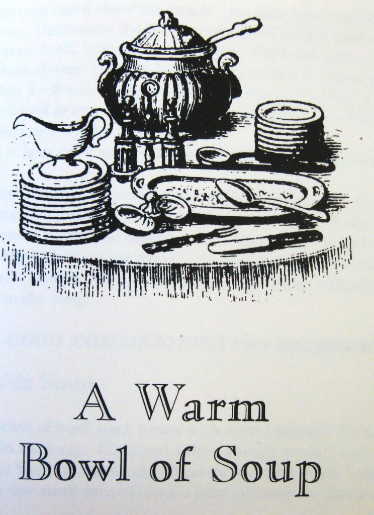 A Warm Bowl of Soup Picture - Keepers of the Hearth