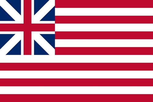 The Grand Union flag.
