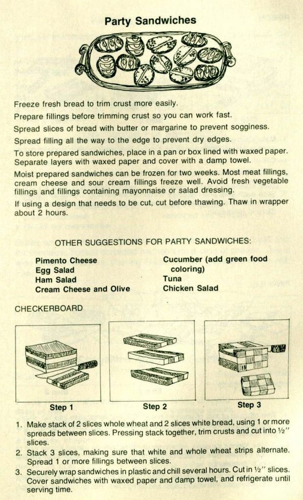 Party Sandwiches-Out of Our League