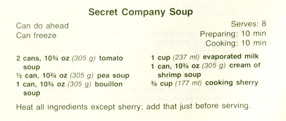 USED 2-18-16 Secret Company Soup-Out of Our League