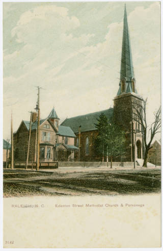 Postcard of Edenton Street United Methodist Church