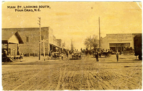 Main Street of Four Oaks