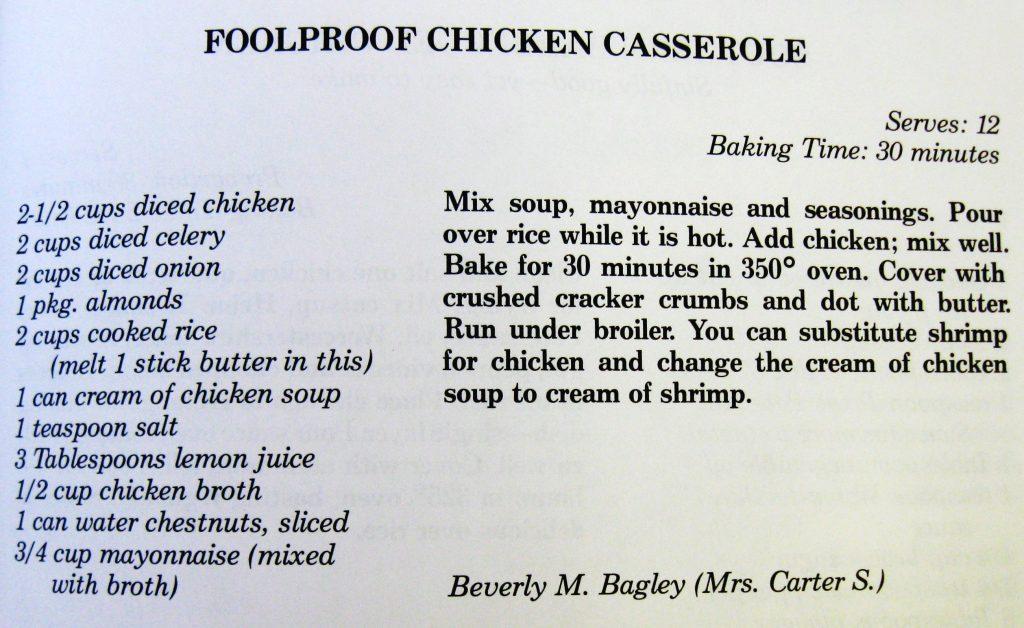 Foolproof Chicken Casserole - Mountain Elegance