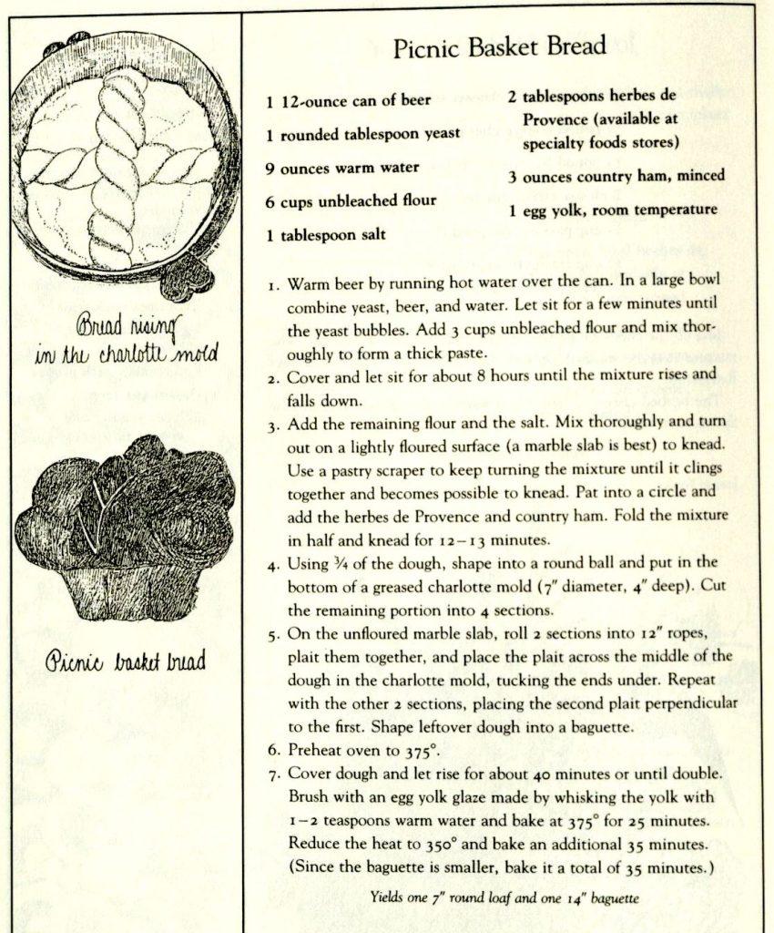 Picnic Basket Bread - The Fearrington House Cookbook