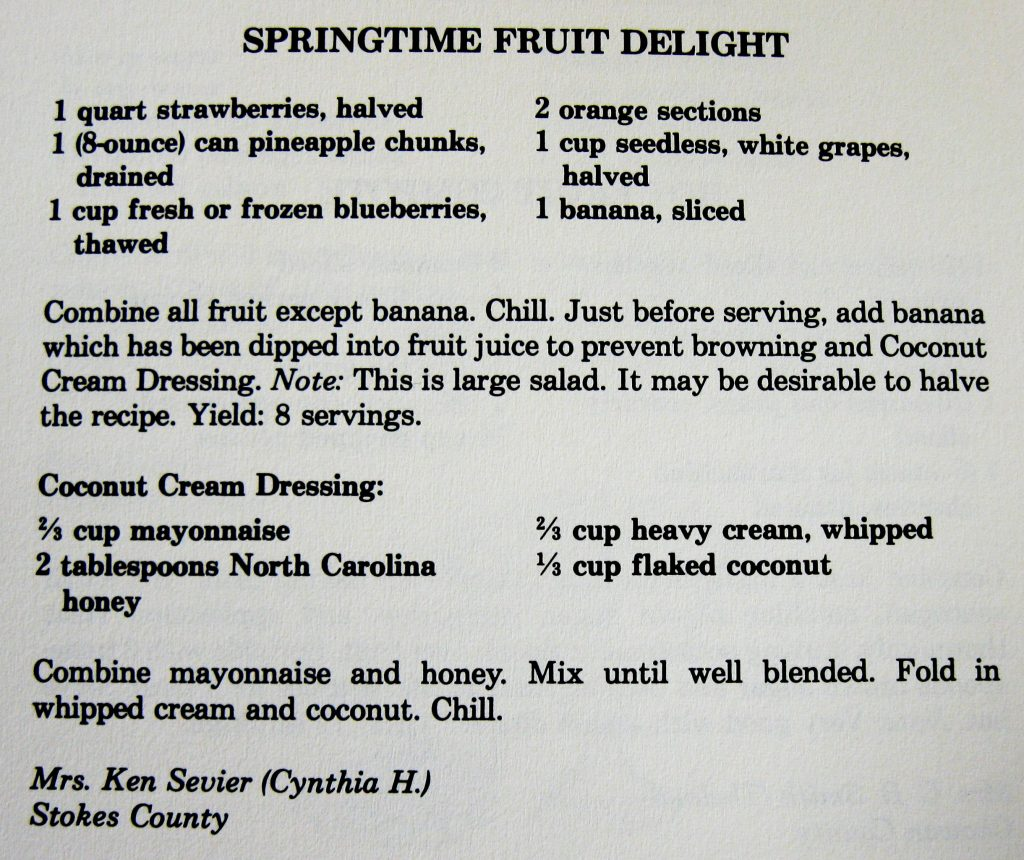 Springtime Fruit Delight - Company's Coming