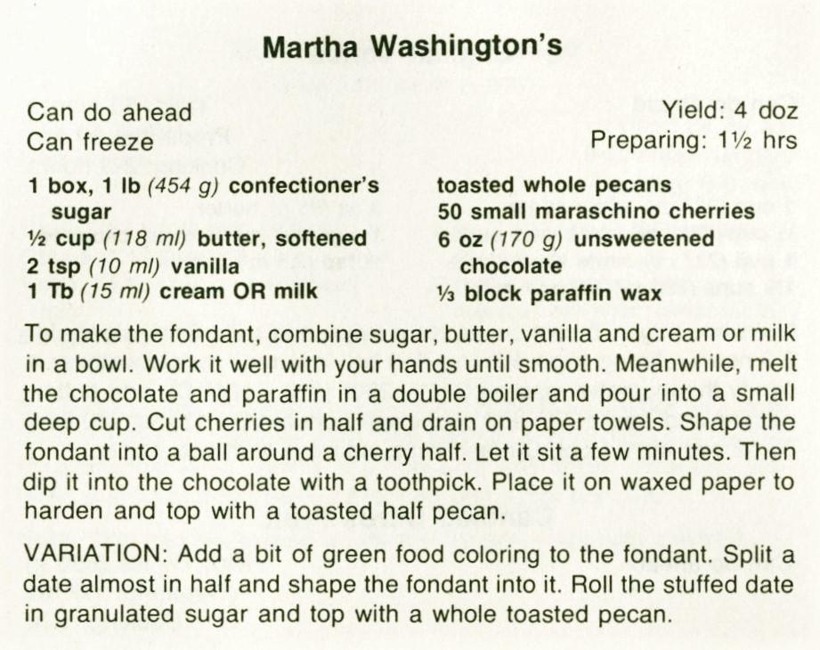 Martha Washington's-Out of Our League