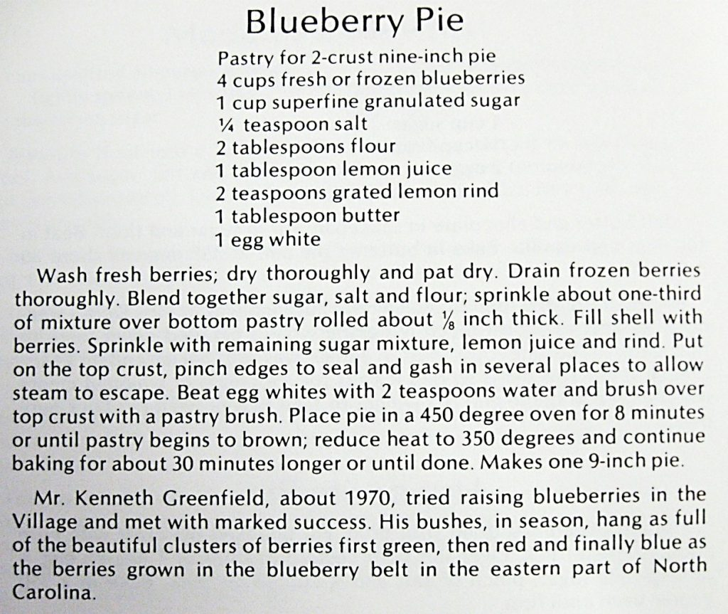 Blueberry Pie - Koerner's Folly Cookbook (2)