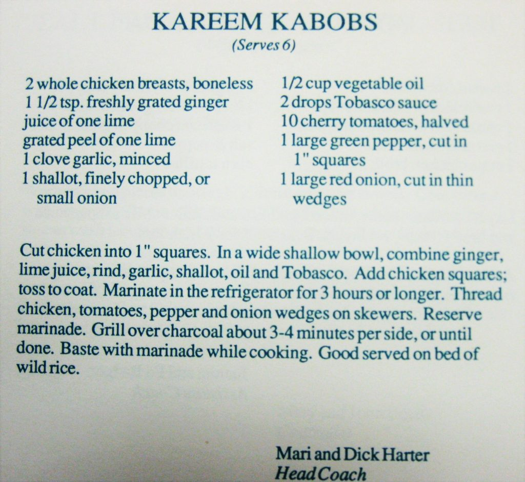 Kareem Kabobs - Hornets Homecooking