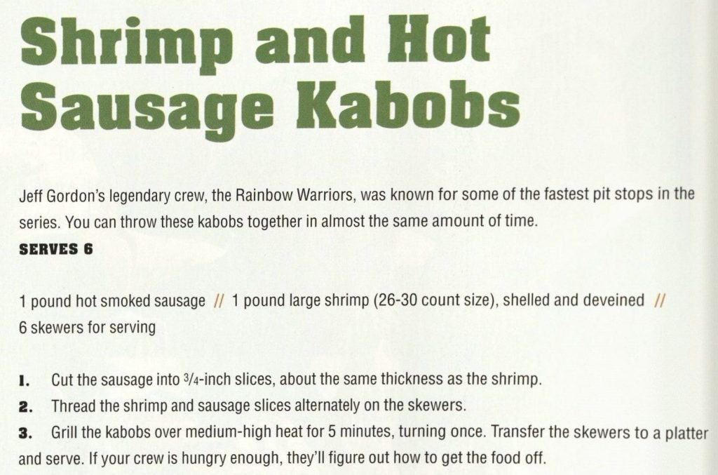 Shrimp and Hot Sausage Kabobs - Mario Tailgates