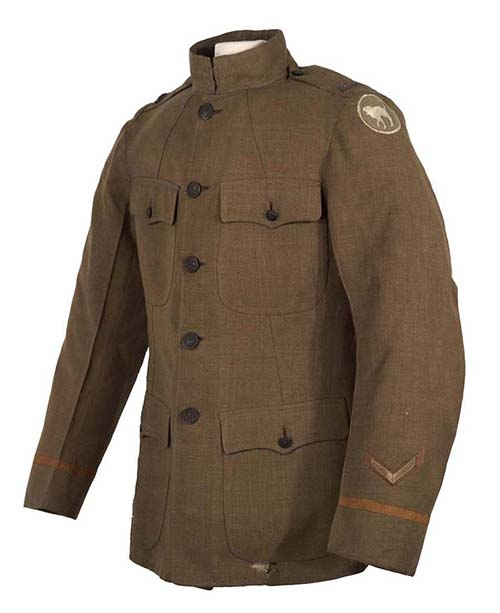William B. Umstead's winter service jacket