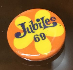 Jubilee button