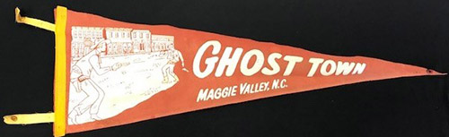 Pennant for Ghost Town in Maggie Valley