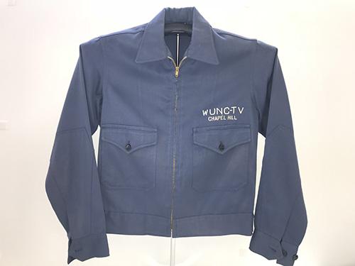 1950s WUNC-TV jacket