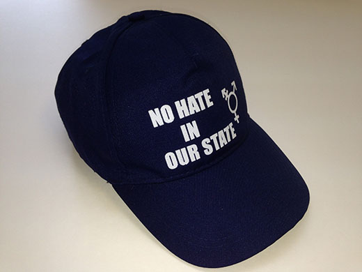 No hate in our state hat.