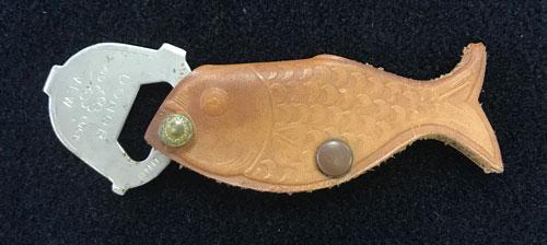 Sanitary Fish Market bottle opener-Side 1