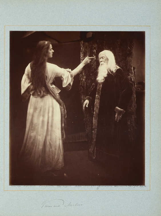 Julia Margaret Cameron, Illustrations to Tennyson's Idylls of the King, and Other Poems (London, 1875)