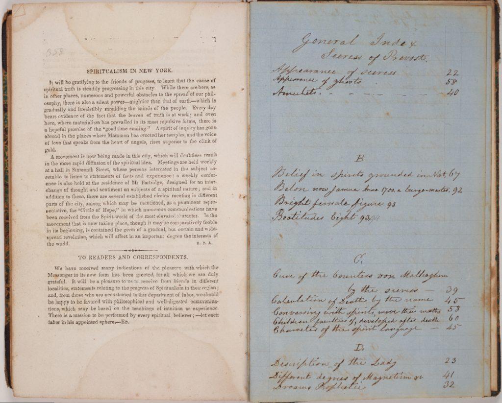 """Manuscript content list for """"Celestial Gems"""" / accession 130623"""