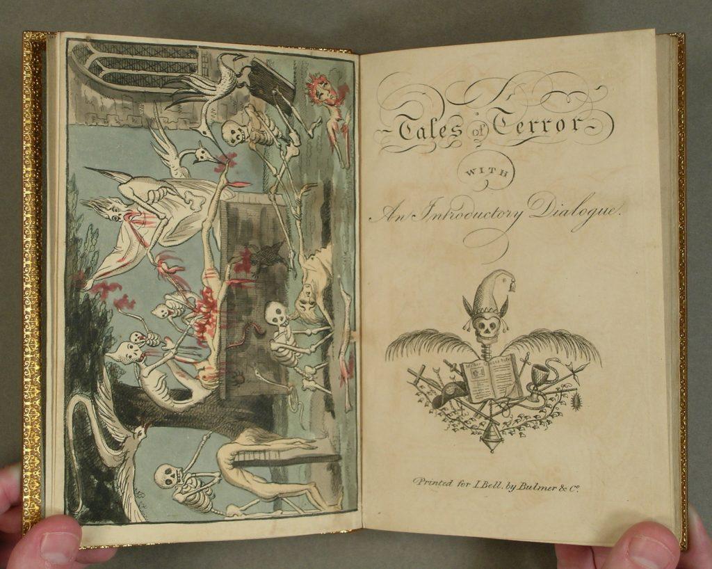 Tales of Terror (London, 1801) PN6110.T5 L5 1801 c.2
