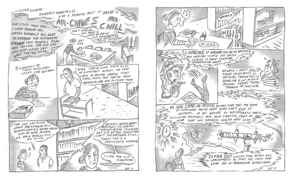 Excerpt from Lizard Ramone in Hot Pursuit