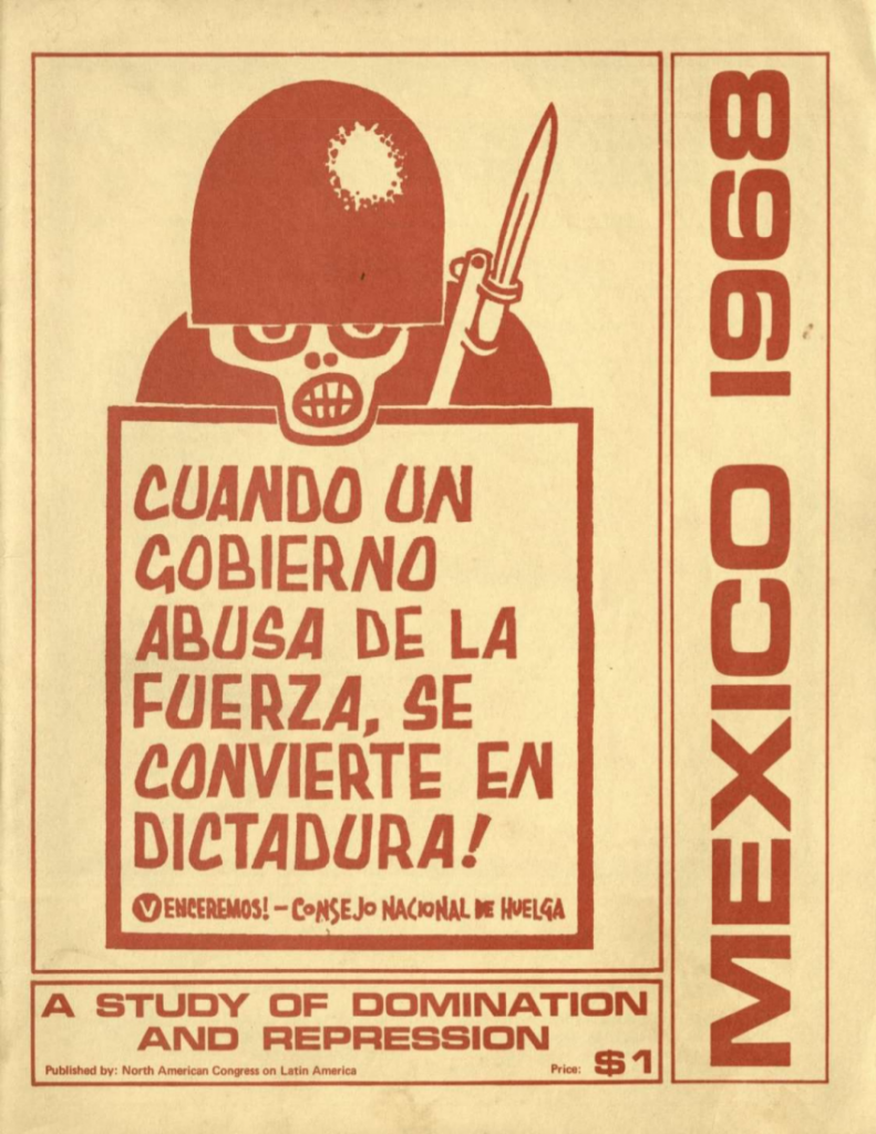 Mexico 1968 front cover