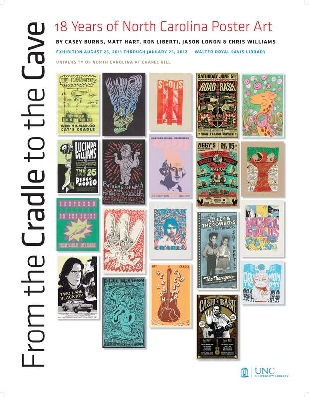 From the Cradle to the Cave: 18 Years of North Carolina Poster Art