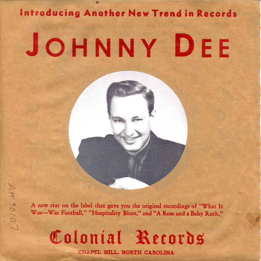 Johnny Dee_45rpm