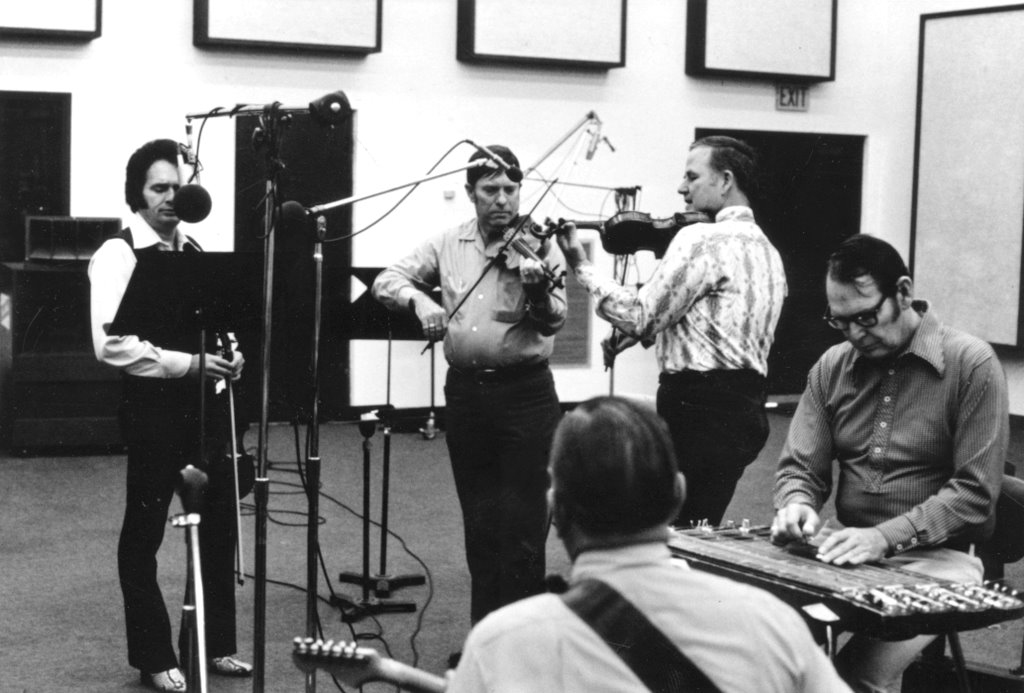 Photo of the Week: Merle Haggard and the Texas Playboys
