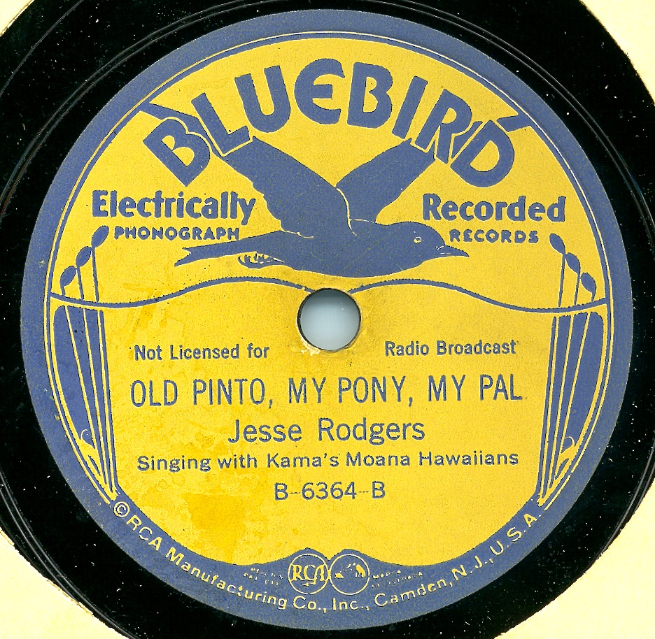 78_828_Old Pinto, My Pony, My Pal_Southern Folklife Collection (30001)_UNC Chapel Hill