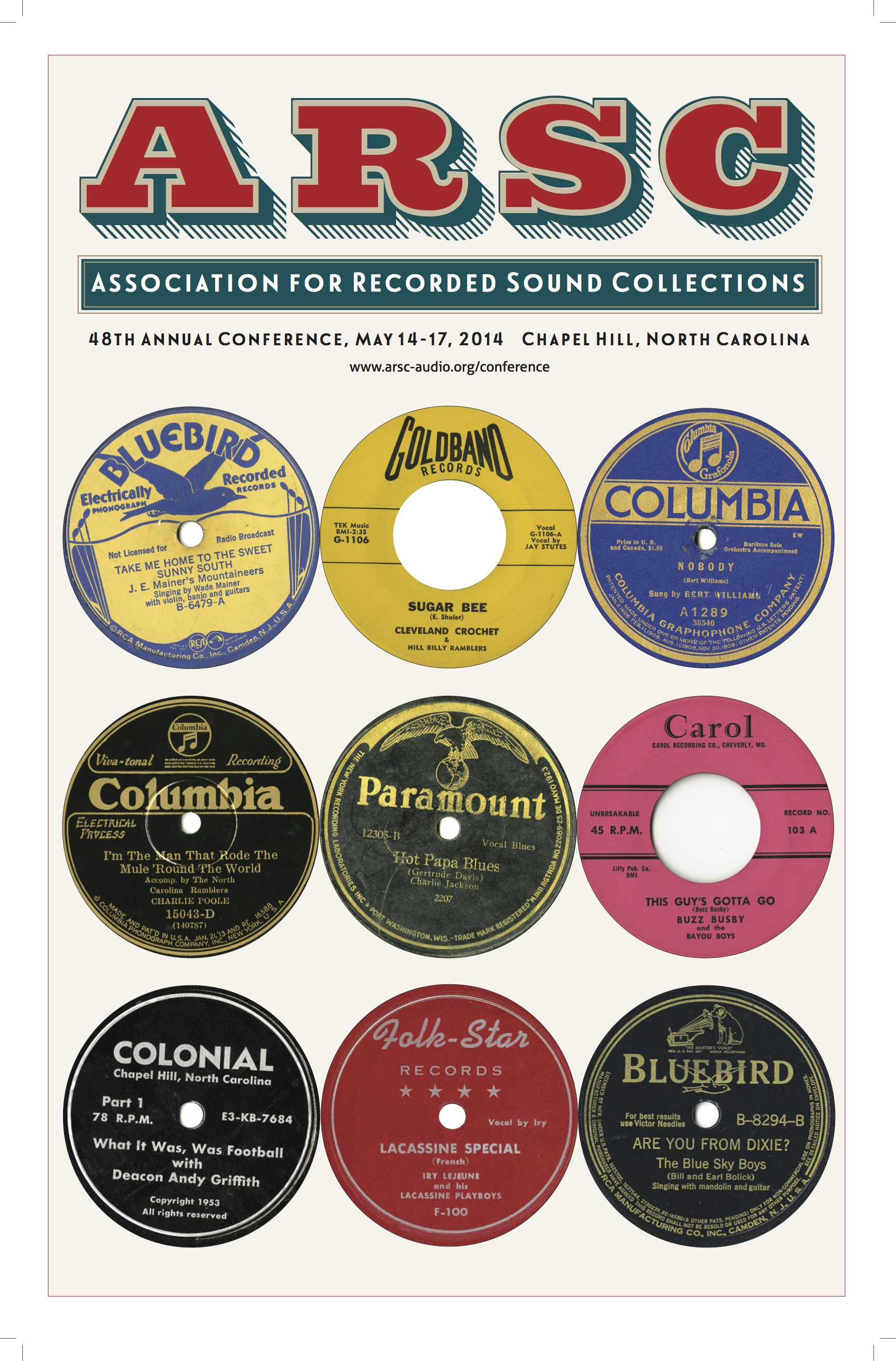 ARSC 2014_Southern Folklife Collection