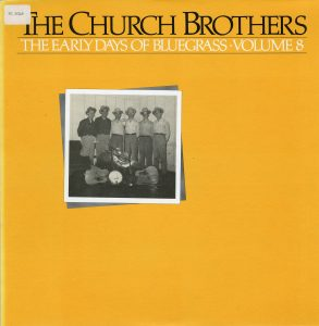 Church Brothers compilation on Rounder Records