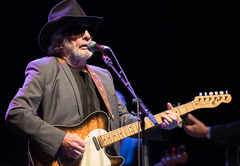Merle Haggard at Memorial Hall for SFC25. Photo by Mark Perry Photography.