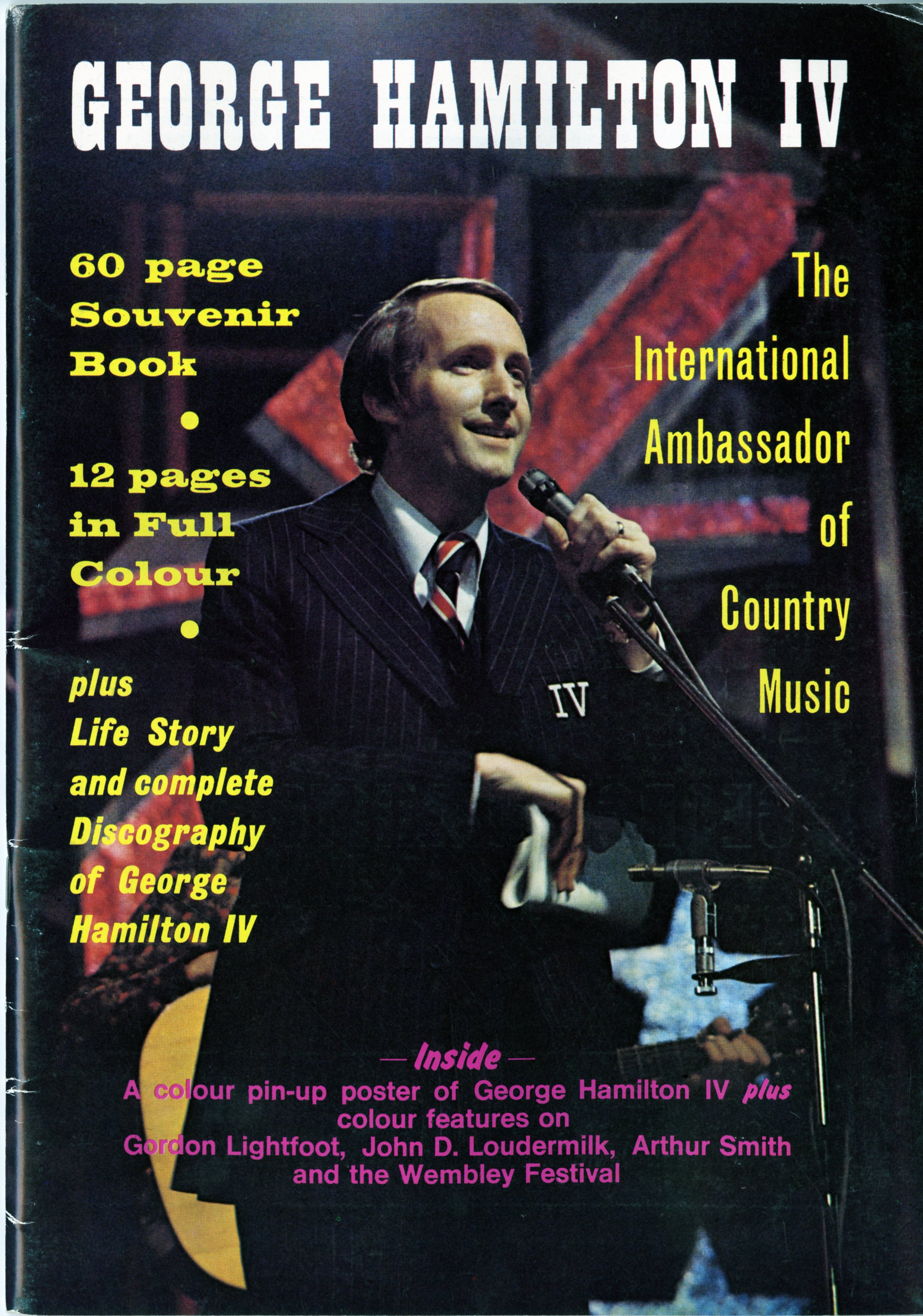 George Hamilton IV by Bud Powell, Folder 35 in the George Hamilton IV Collection (20410), Southern Folklife Collection, UNC Chapel Hill