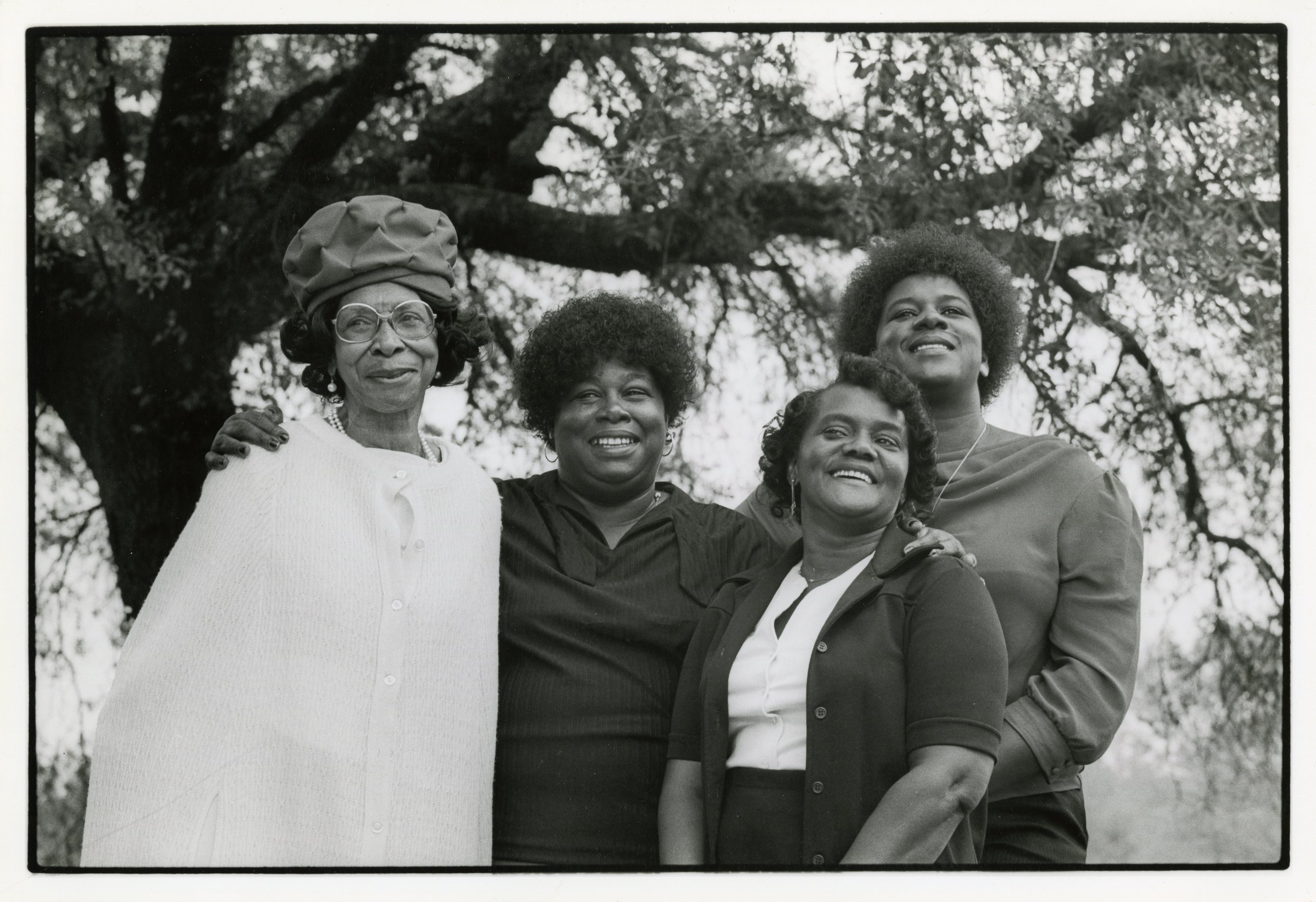Members of the Moving Star Hall Singers, Ruth Bligen, Janie Hunter, Bertha Smith, Mary Pinckney. photo by Wade Spees. 20008_PF20008_13
