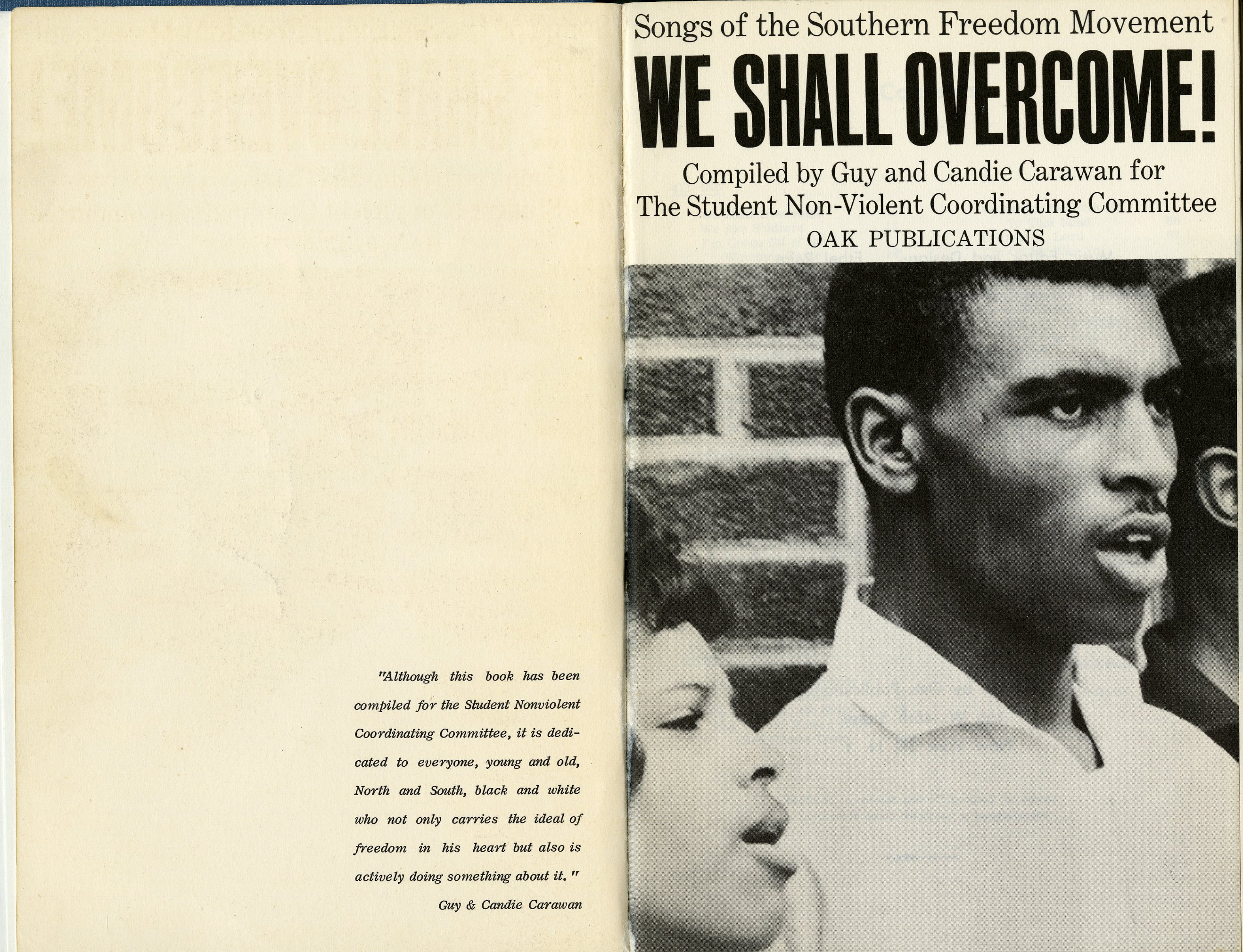 M1629_C2_W4_We Shall Overcome_Southern Folklife Collection_UNC Chapel Hill