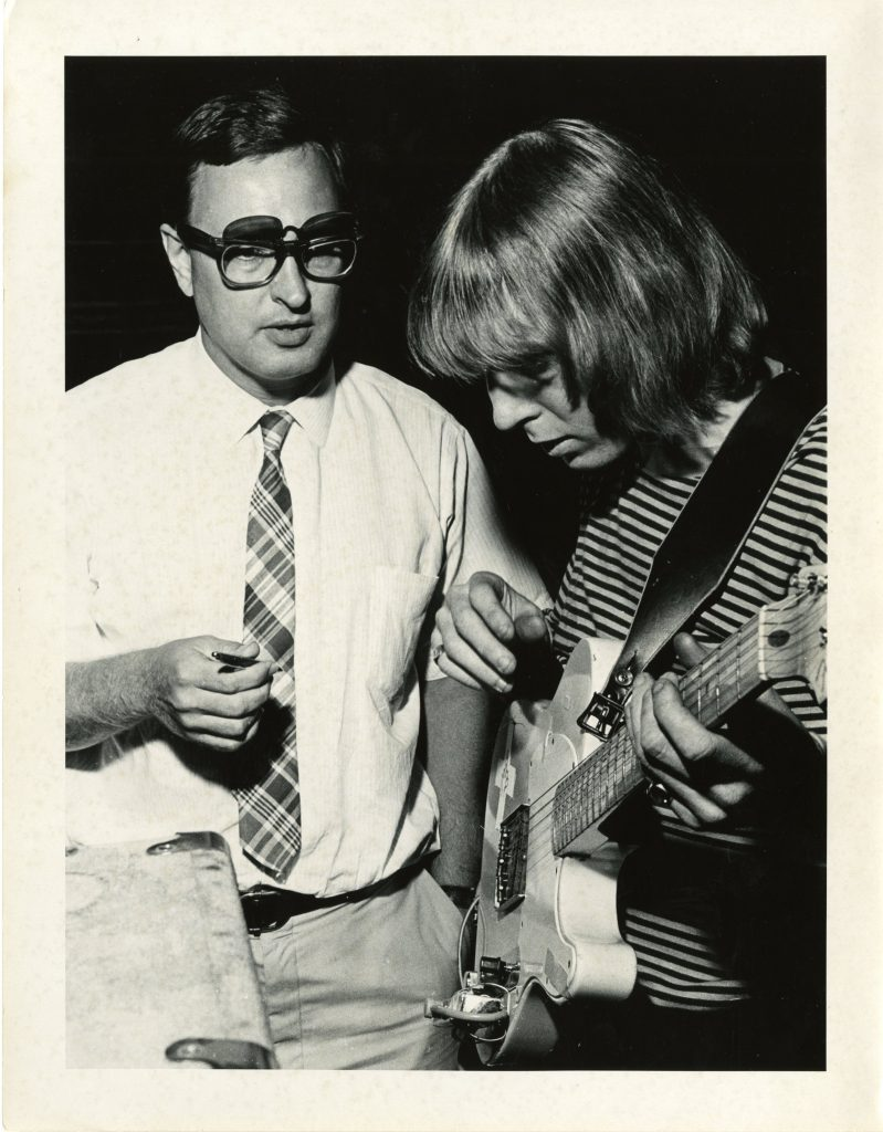 P-20418/2_John D. Loudermilk and Duane Allman, Southern Folklife Collection_UNC Chapel Hill