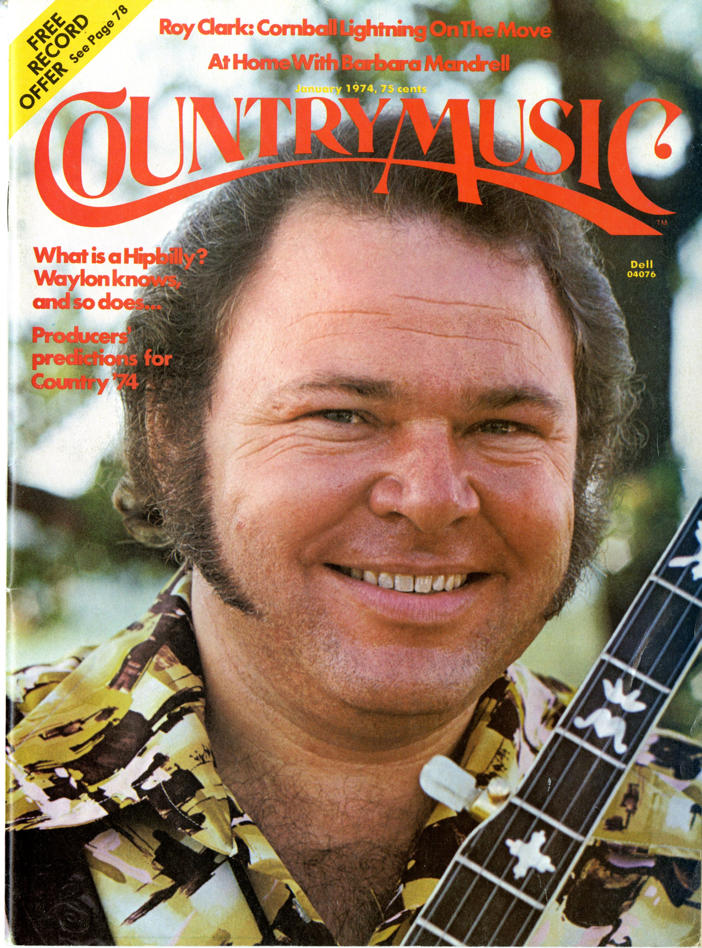 Cover_Ray Price_CountryMusic_jan1974_CountryMusic_jan1974_Russ Barnard Collection_20484_Southern Folklife Collection_UNC Chapel Hill