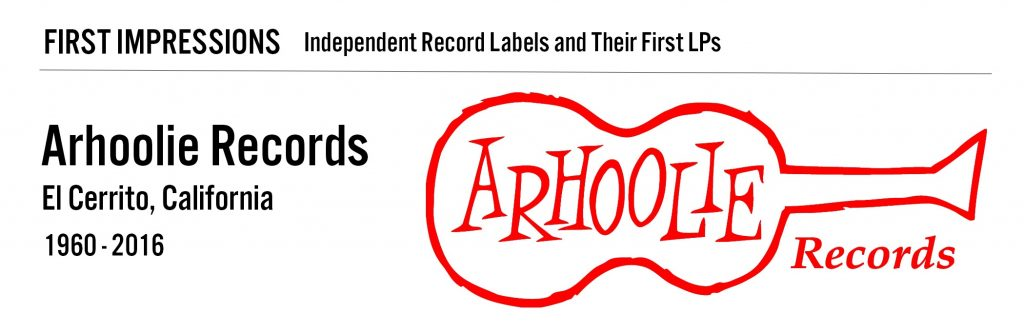 title banner, Arhoolie Records, El Cerrito, California, 1960 to 2016