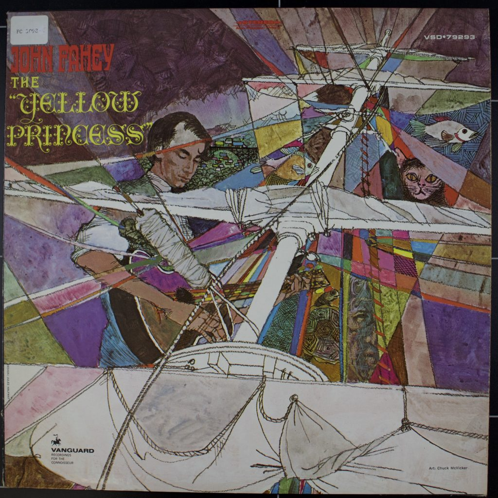 Record sleeve for The Yellow Princess by John Fahey