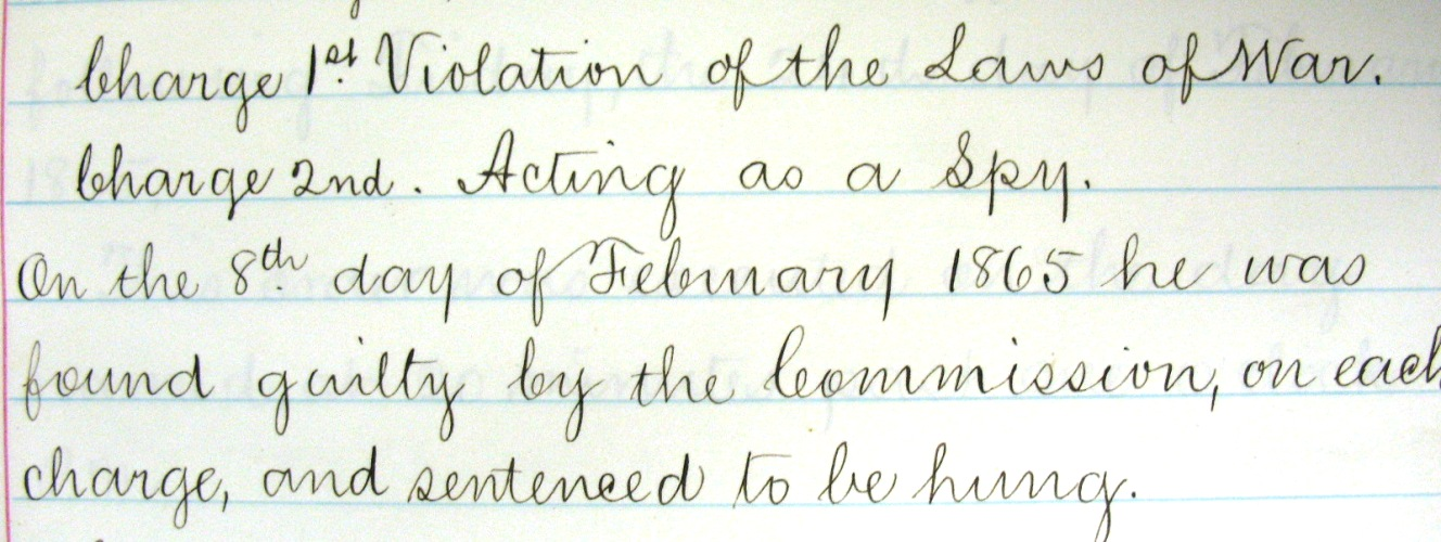 Portion of transcription from John Y. Beall Papers (#2533-z)